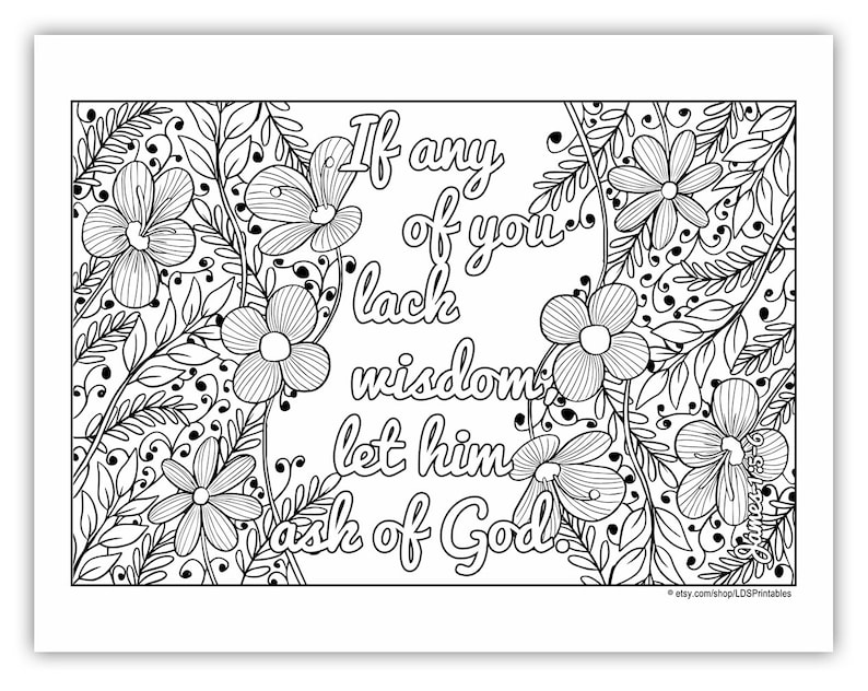 2017 Mutual Theme Coloring Page 8.5x11  Flower image 0