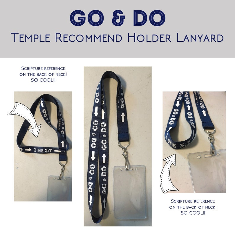 2020 Go & Do Temple Recommend Holder Lanyard with pouch  image 0