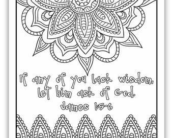 """2017 Mutual Theme Coloring Page 8.5""""x11"""" - Indian Pattern"""