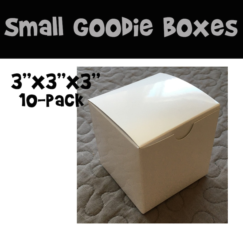 Small Goodie Boxes prize boxes small gift box 10-pack 10 image 0