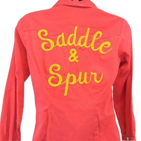 Rockmount Ranch Wear Saddle and Spur Western Shirt