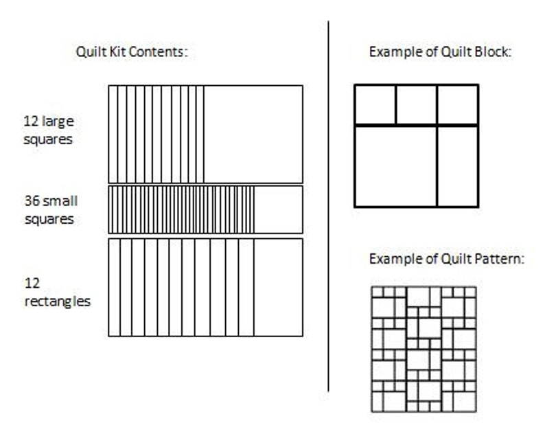 Quilting Cotton fabric by Michael Miller Fox theme Precut Quilt Kit for Boy or Girl Top only Instructions for quilt top included