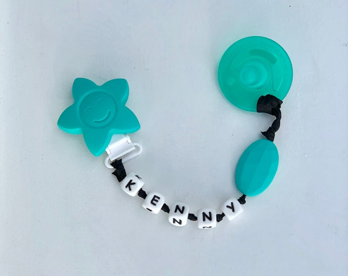 SillyMunk™ Teething Pacifier Clip- with Pacifier