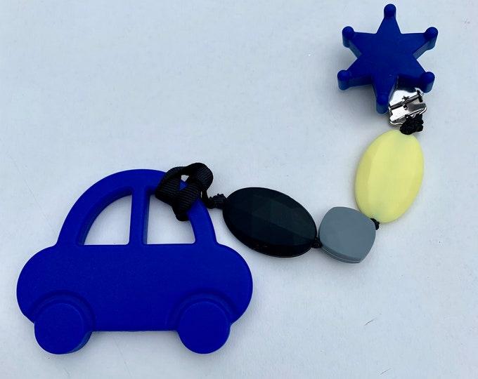 SillyMunk™ Silicone Car Teething Clip BPA Free