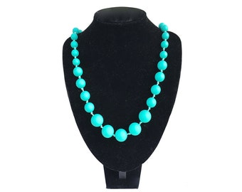 SillyMunk™ Silicone Teething Autistic Necklaces for Kids Teal