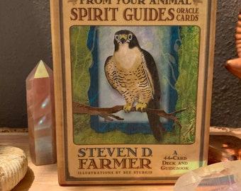 Animal Spirit Guide Oracle card reading