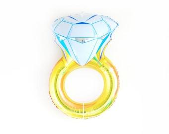 """DIAMOND RING balloon  34"""""""
