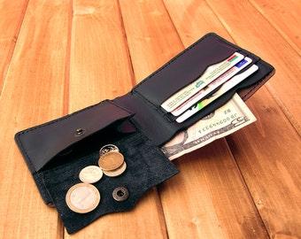 Mens leather wallet best wallet for men slim leather brown in black wallet