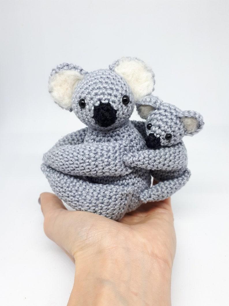 Koala bear amigurumi koala new mom gift koala stuffed image 0