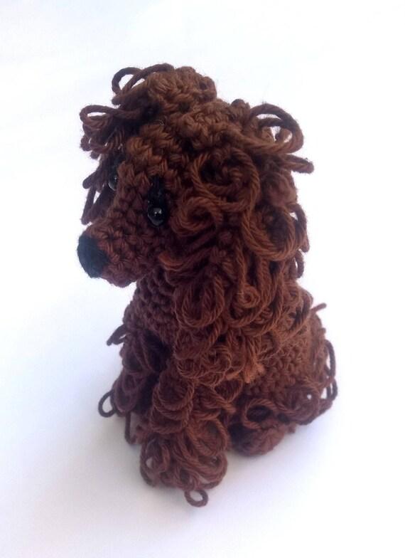 Crochet Cockerspaniel Cockerspaniel Stuffed Animal Spaniel Etsy