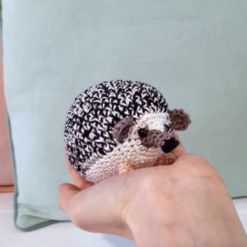 Hedgehog crochet hedgehog stuffed hedgehog hedgehog crochet image 0