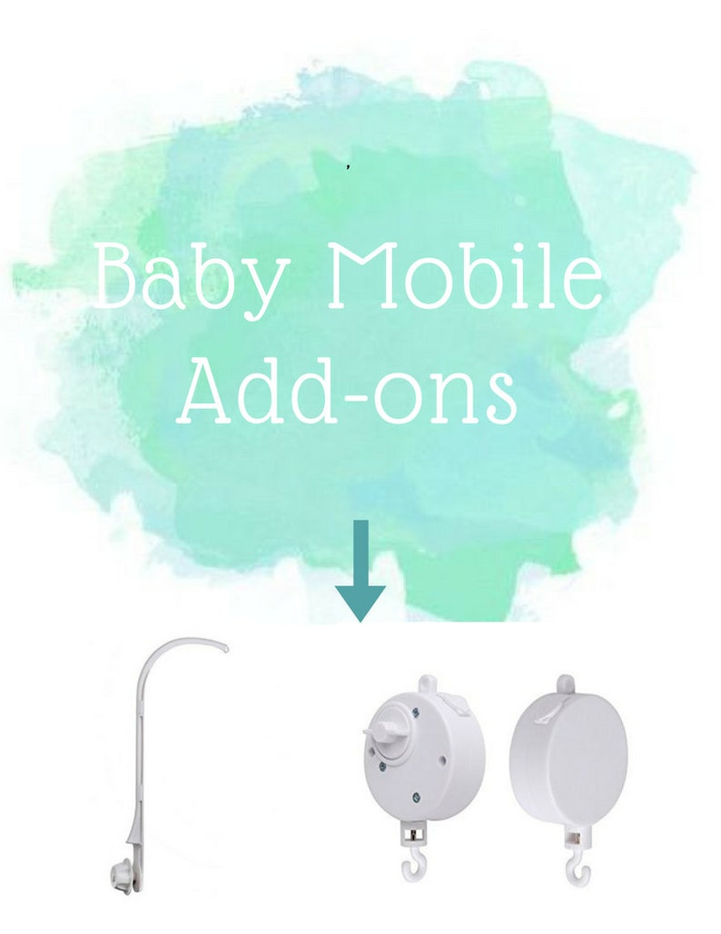 Baby mobile hanger mobile attachment nursery mobile arm  image 0