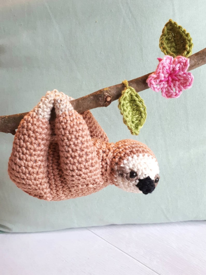 Sloth Crochet sloth sloth stuffed animal sloth plush sloth image 0