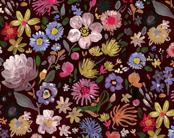 """Dear Stella  MINKY  Forest Life PAW1571 designed by August Wren - 58"""" Wide - Sold in 1/2 yard increments"""