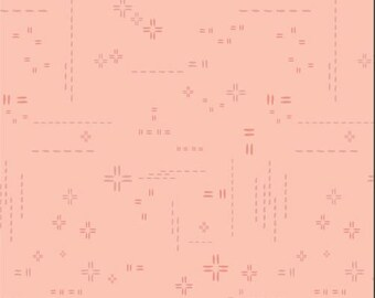 1/2 Yard Art Gallery Fabrics Decostitch in Peach Whisper DSE 720