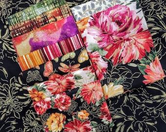 Fabric Bundle Timeless Treasures Felicity - 11 prints - Pick your cut