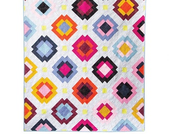 Radiate Quilt Pattern designed by Meghan Buchanan of Then Came June