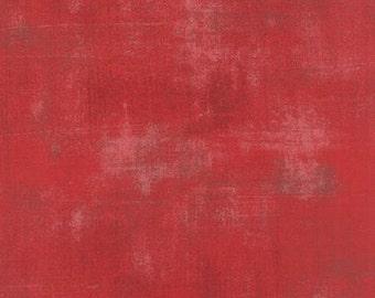 1/2 Yard Moda Grunge Cherry 265