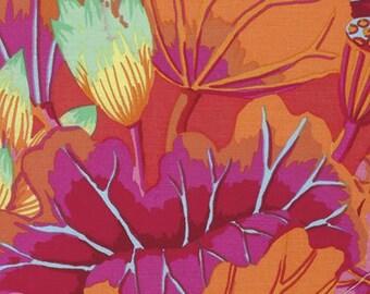 1/2 yard Kaffe Fassett Lake Blossoms Magenta  GP93 fabric