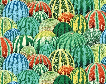 1/2 Yard Watermelon in Green by Philip Jacobs PJ103