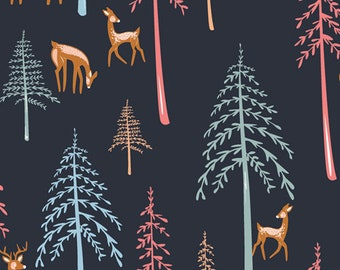 Art Gallery Little Forester, Among the Pines 2200 designed by AGF Studio - Sold in 1/2 Yard Increments