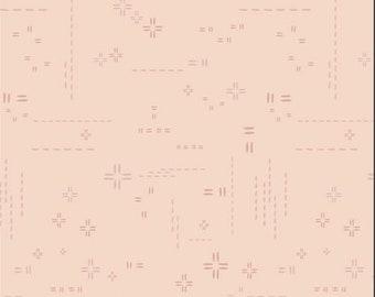 1/2 Yard Art Gallery Fabrics Decostitch in Pink Powder DSE 719
