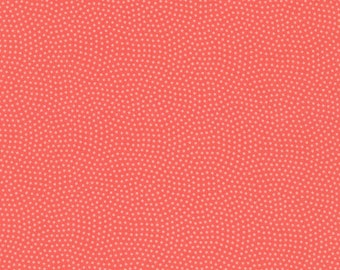 1/2 Yard Timeless Treasures Spin Basics C5300 in Guava
