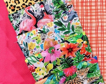 Fabric Bundle Dear Stella Paradise Found  designed by August Wren - 8 Prints - Pick your cut