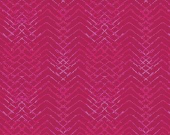 1/2 Yard Art Gallery Fabrics Aquarelle Tachisme Magenta 76751 designed by Katarina Roccella