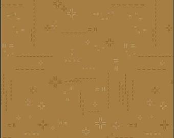 1/2 Yard Art Gallery Fabrics Decostitch in Golden Earth DSE 722
