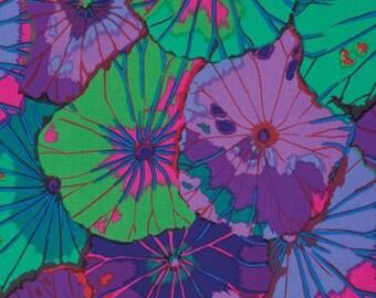 1/2 yard Lotus Leaf in Purple by Philip Jacobs  fabric  PJ029
