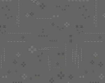 1/2 Yard Art Gallery Fabrics Decostitch in Shadow DSE 704