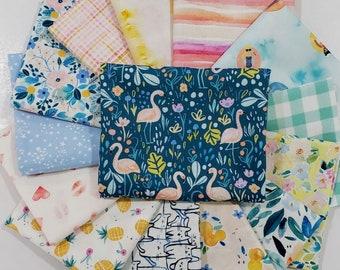 Fabric Bundle Dear Stella Summer Lovin  designed by Clara Jean - 14 prints - Pick your cut