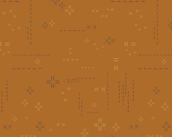 LAST 1/2 Yard Art Gallery Fabrics Decostitch in Pecan Praline  DSE 714