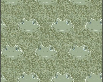 Lilliput, Ode to Toady 56713 from Art Gallery fabrics designed by Sharon Holland - Sold in 1/2 yard increments