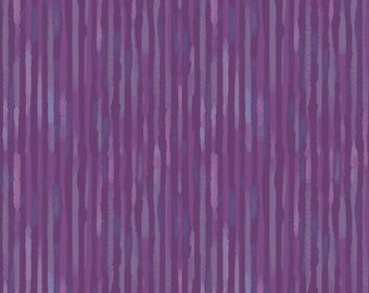 1/2 yard Las Flores 977 Purple designed by Nancy Rink for Studio 37 of Marcus Bros Fabrics