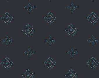 1/2 Yard Art Gallery Fabrics Aquarelle Rhombastic Negative  76756 designed by Katarina Roccella