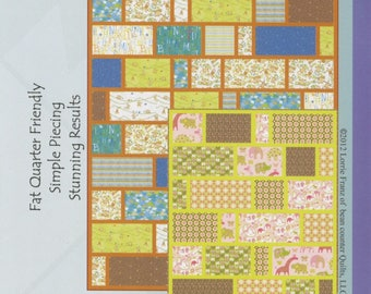 LIfe is Good Quilt Pattern from Bean Counter Quilts