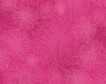 1/2 Yard Art Gallery Fabrics Floral Element in Fuchsia  FE 536