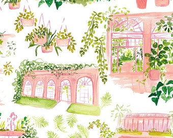 Dear Stella Orangerie 1859 designed by Caitlin Wallace Rowland - Sold in 1/2 yard increments
