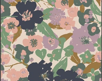 Lilliput, Full Bloom 56700 from Art Gallery fabrics designed by Sharon Holland - Sold in 1/2 yard increments