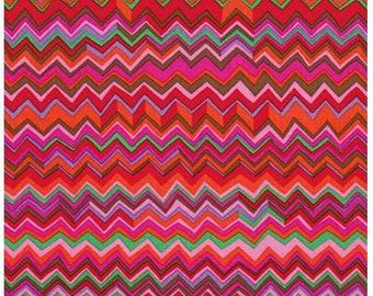1/2 Yard Zig Zag Warm Brandon Mably fabric BM037