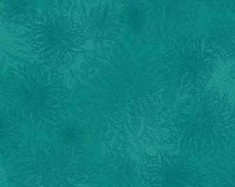 1/2 Yard Art Gallery Fabrics Floral Element in Esmeralda FE 539