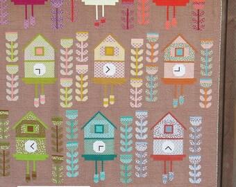 Cuckoo Quilt Pattern designed by Elizabeth Hartman