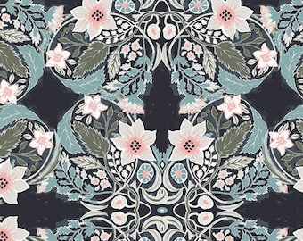1/2 Yard of Picturesque Ornatile Deep 29455 from Art Gallery Fabrics designed by Katarina Roccella