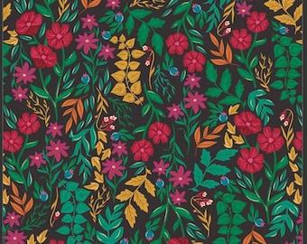 1/2 Yard Art Gallery Fabrics Flower Society, Luminous Floriculture 99114 designed by AGF Studiios