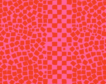 Chips in Rose fabric designed by Brandon Mably BM073 for Kaffe Fassett - Sold in 1/2 yard increments