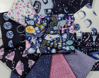 Fabric Bundle Dear Stella Lantern Light  designed by Rae Ritchie - 11 Prints - Pick your cut