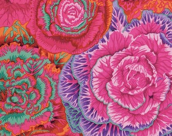 1/2 yard Brassica Red Philip Jacobs fabric PJ051