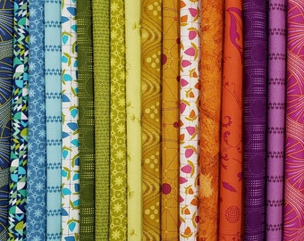 Fabric Bundle of  Andover Collective - 21 Prints  - Pick your cut